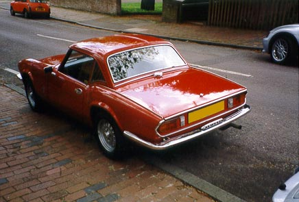 Photo of Triumph Spitfire Just After Bodywork Restoration 1