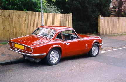 Photo of Triumph Spitfire Just After Bodywork Restoration 2