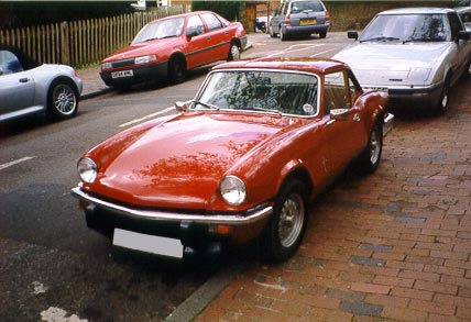 Photo of Triumph Spitfire Just After Bodywork Restoration 4
