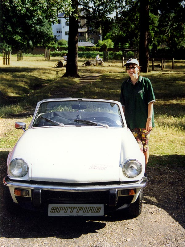 Photo of Triumph Spitfire in Richmond Park